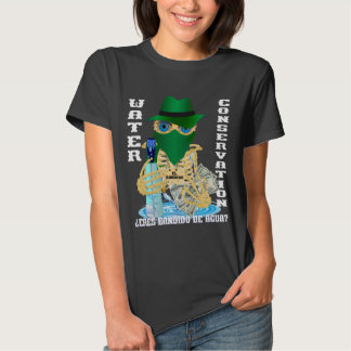 California Water Bandido Spanish WOMEN Tee Shirt