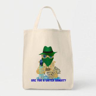 California Water Bandit English Grocery Tote Bag