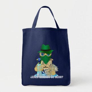 California Water Bandit Spanish Grocery Tote Bag