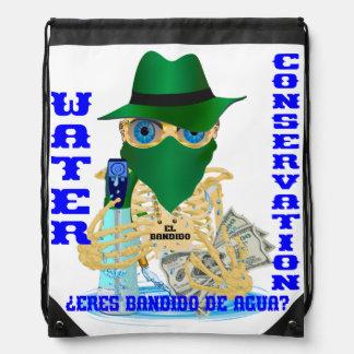 California Water Bandit Spanish Marathon Backpacks