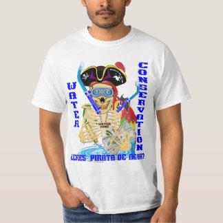 California Water Pirata Spanish MEN T Shirt