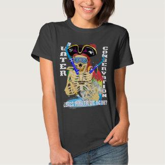 California Water Pirata Spanish WOMEN Shirt
