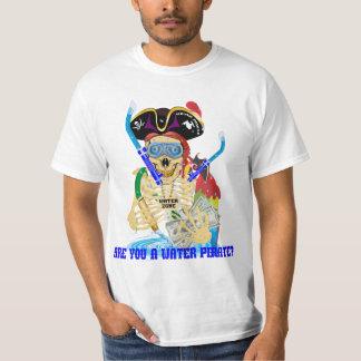 California Water Pirate English MEN Tee Shirt