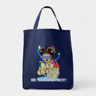 California Water Pirate English Tote Bag