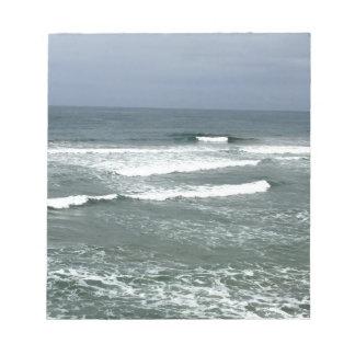 CALIFORNIA WAVES NOTEPAD
