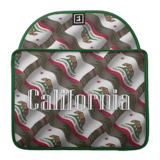 California Waving Flag MacBook Pro Sleeves