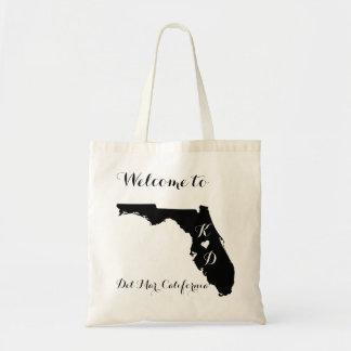 California Welcome Destination Wedding Tote Bag