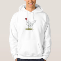 California White Hen Hoodie