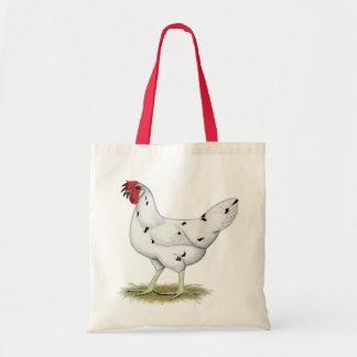 California White Hen Tote Bag