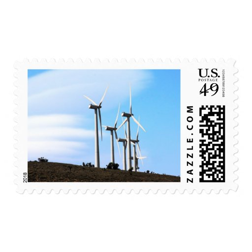 California Windmills Postage Stamps