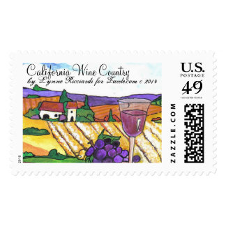 California Wine Country Postage