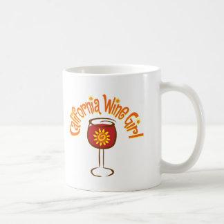 California Wine Girl4 Coffee Mug