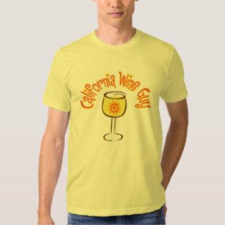 California Wine Guy Tee Shirt