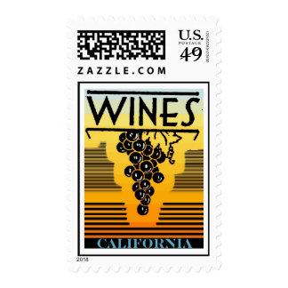 california wine postage