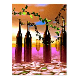 California Wines Postcard