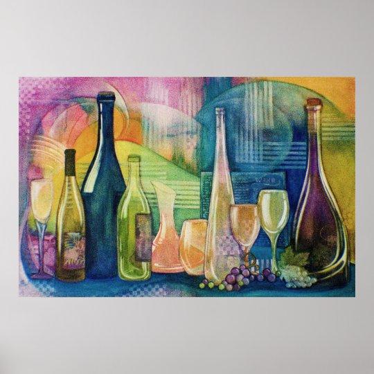 California Wines Poster