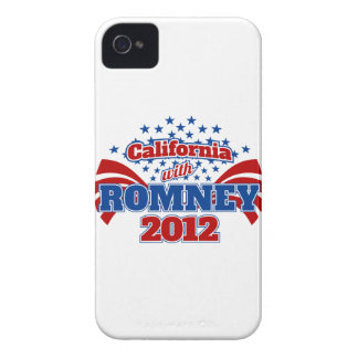 California with Romney 2012 iPhone 4 Covers