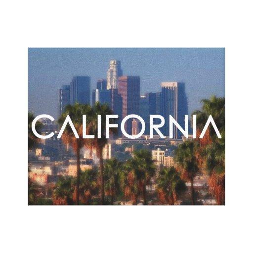 ¡California - YG! Impresión En Lienzo