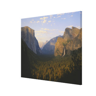 California, Yosemite National Park, Yosemite Stretched Canvas Prints