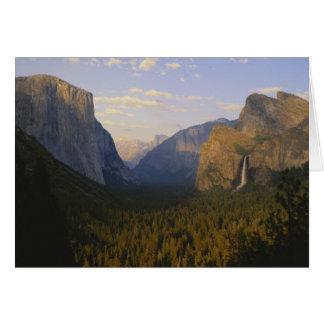 California, Yosemite National Park, Yosemite Greeting Card