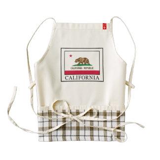 California Zazzle HEART Apron
