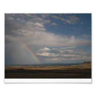 California Zephyr Rainbow Photo Print