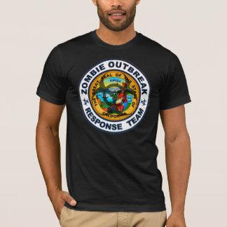 California Zombie Outbreak Response Team T-Shirt