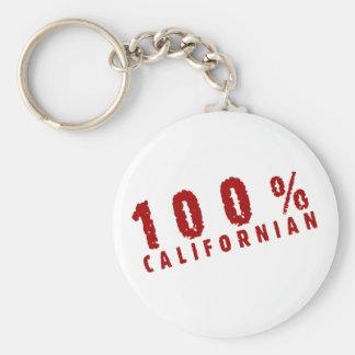 Californian 100 llavero redondo tipo pin