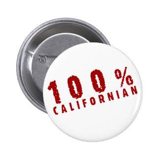 Californian 100 pin redondo de 2 pulgadas