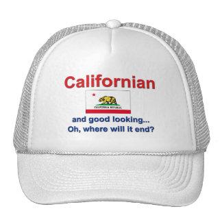 Californian apuesto gorros
