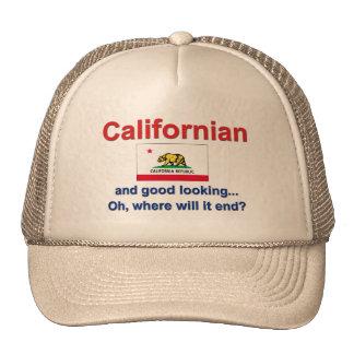 Californian apuesto gorro