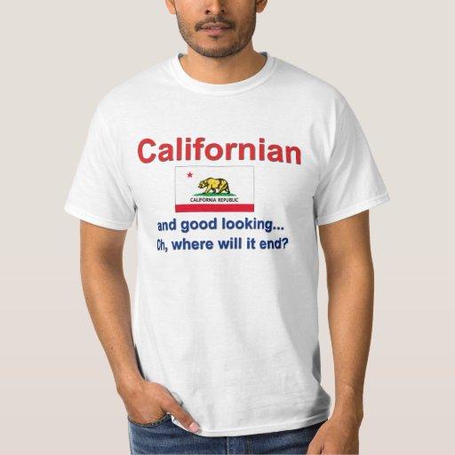 Californian apuesto playera