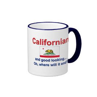 Californian apuesto tazas