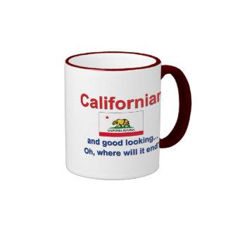 Californian apuesto taza de café