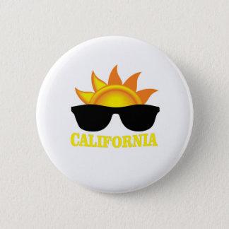Californian cool pinback button