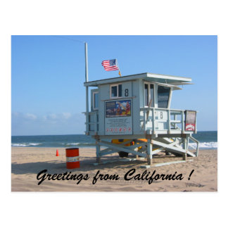 californian greetings postcard