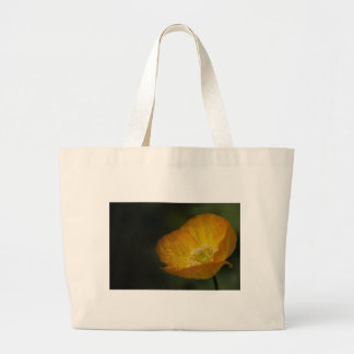 Californian Poppy Flower - After the Rain Canvas Bag