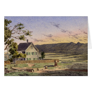 Californian Ranch Greeting Card