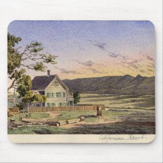 Californian Ranch Mouse Pad