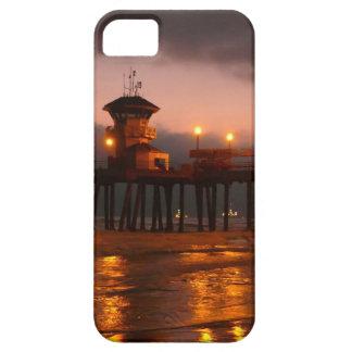 Californian Sunset Huntington Beach Pier iPhone SE/5/5s Case