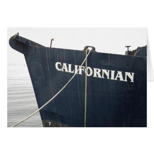 Californiano Tarjeta De Felicitación