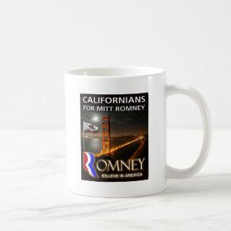 Californians for Mitt Romney 2012 Coffee Mug