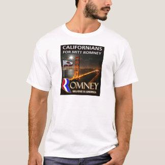 Californians for Mitt Romney 2012 T-Shirt