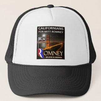 Californians for Mitt Romney Trucker Hat
