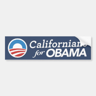 Californians para el COLOR del PERSONALIZADO de la Etiqueta De Parachoque