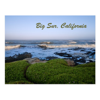 California's Big Sur coast at dawn Postcard
