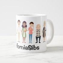 CaliforniaSibs jumbo mug