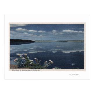 CaliforniaView of Mono Lake in the High Sierra Postcard