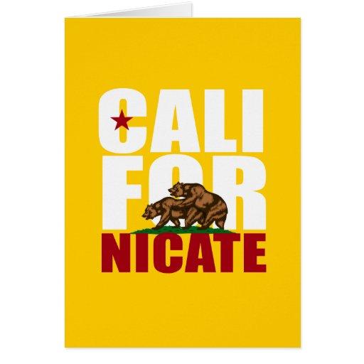 CALIFORNICATE - FELICITACION