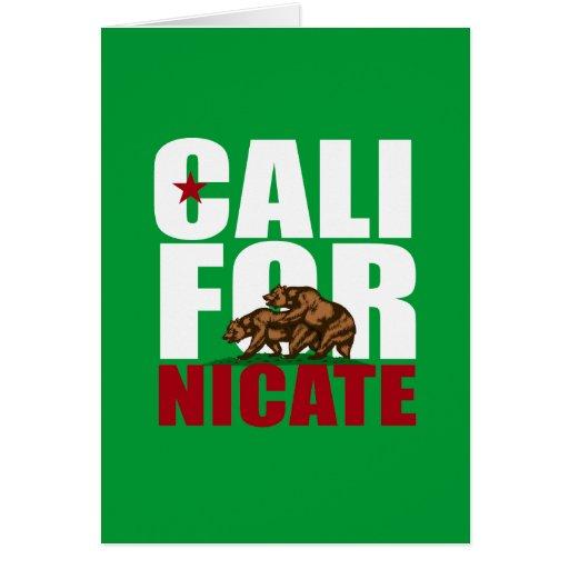 CALIFORNICATE - TARJETAS